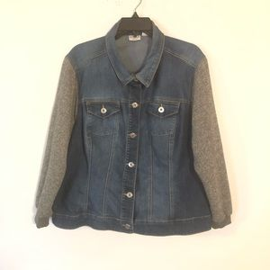 Cato Woman Denim Sweater Size 18/20